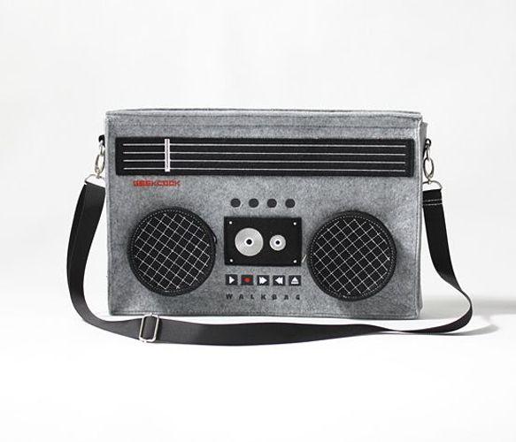 Classic 80's Boombox Bag - Oddities & Fun - Accessories+ ...
