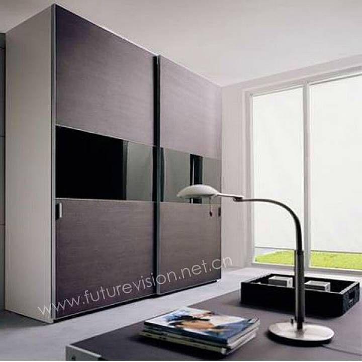 contemporary closet doors for bedrooms | Bedroom: Modern Sliding Door Bedroom Wardrobe Closet Ideas Design With ...