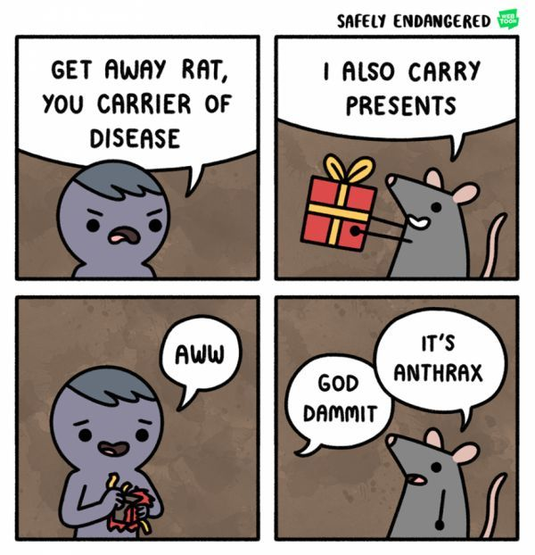 And That's Why Rats Are the Worst - Neatorama