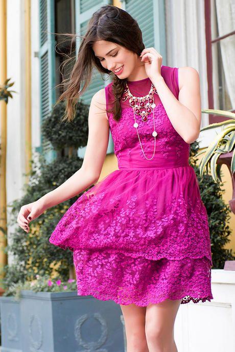 Anella Lace Dress