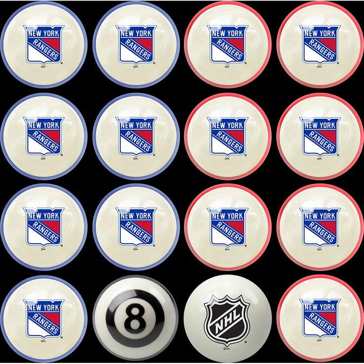 New York Rangers NHL 8Ball Billiard Set Nhl, Vancouver