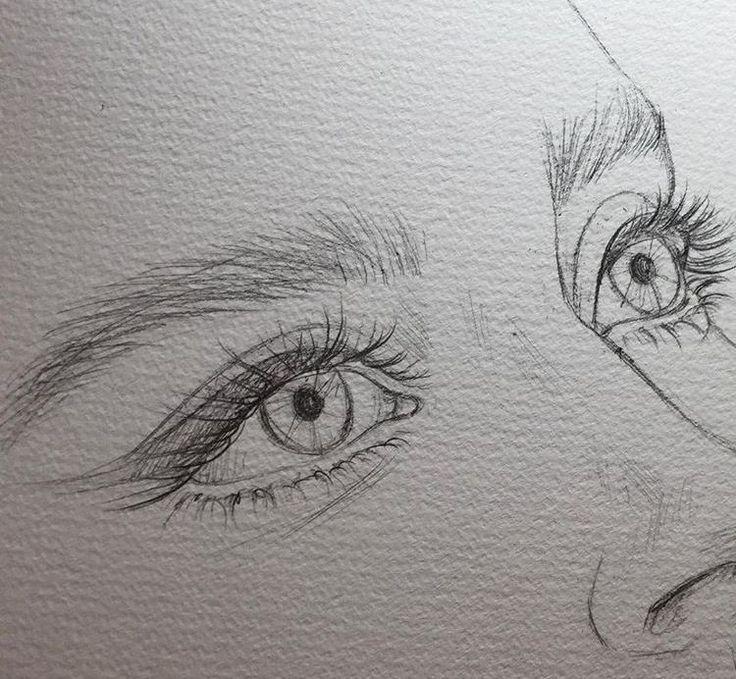 Bleistiftzeichnung – Bild entdeckt von H E A R T B…