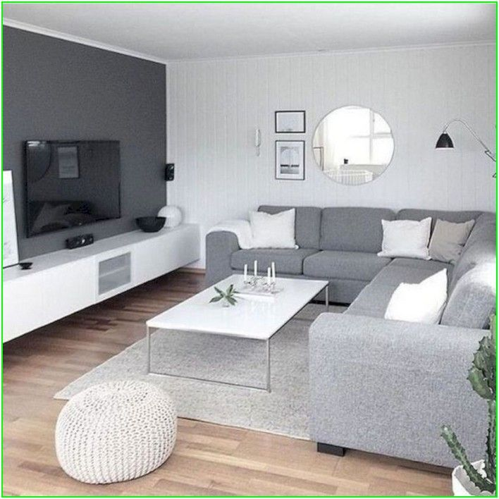 45 Modern Living Room Furniture Design For Dream House 1 Reska In 2020 Gray Living Room Design Small Living Room Decor Living Room Decor Apartment