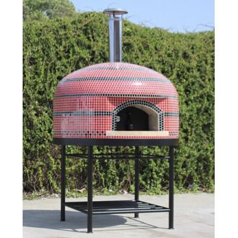 Vesuvio Wood Fire Fully Assembled Artistic Pizza Oven by Forno Bravo