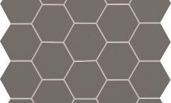 Model mozaic gri - 30.6x28.2 cm - Gresie si faianta baie - All In White Tubadzin Polonia