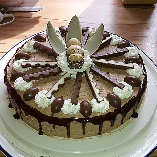 Überraschungsei - Torte lecker und leicht
