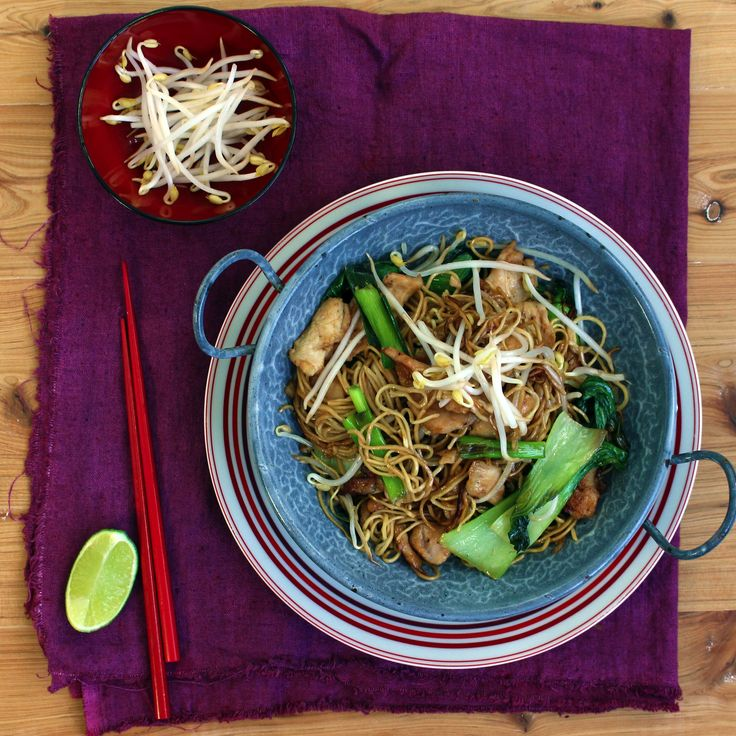 Get a taste of China for dinner tonight with our Quick Chicken Chow Mein recipe with soft noodles! #Whatsfordinner  http://bit.ly/1BXKOHY #Woolworths #Recipe #Dinner #Chicken #Chinesecuisine