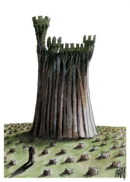 Castillo Ecológico   Ángel Boligán   Regràfica