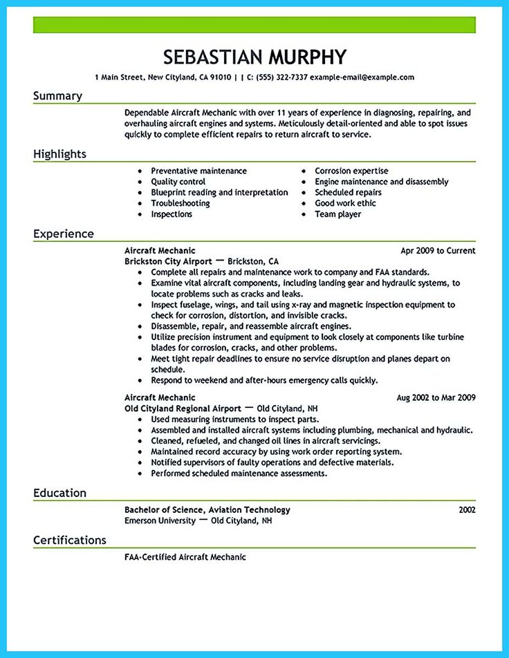 want to make a resumes
