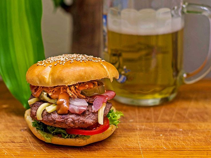 Marshall Eriksens Hamburger, ein sehr schönes Rezept aus der Kategorie Snacks…