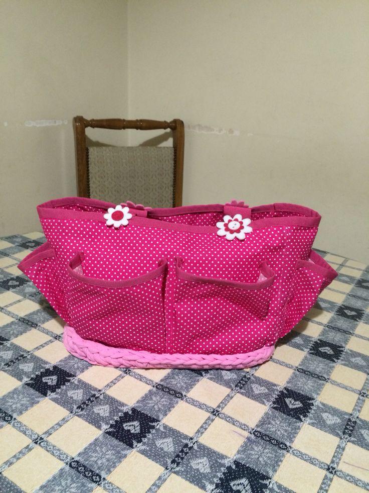 Handmade bag back side