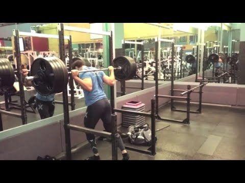 Bacak Geliştirme Hareketi | Çömelme – Barbbell squat | | BODY BUILDING