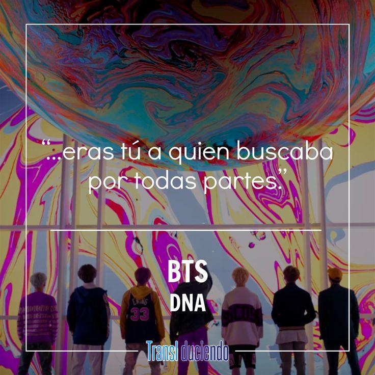 """¡Hola! Traemos la traducción de una canción llena de color que fácilmente se queda dando vueltas en la cabeza. """"DNA"""" de #BTS está traducida en el siguiente enlace:  https://goo.gl/Sjxmn4 #BTS #DNA #LoveYourselfHer #BangtangBoys #KPop  ¿Qué tal te pareció esta propuesta del grupo? Si te gustó la traducción que hicimos para ti, por favor ayúdanos compartiendo. También cuéntanos qué otras canciones te gustaría que tradujéramos."""
