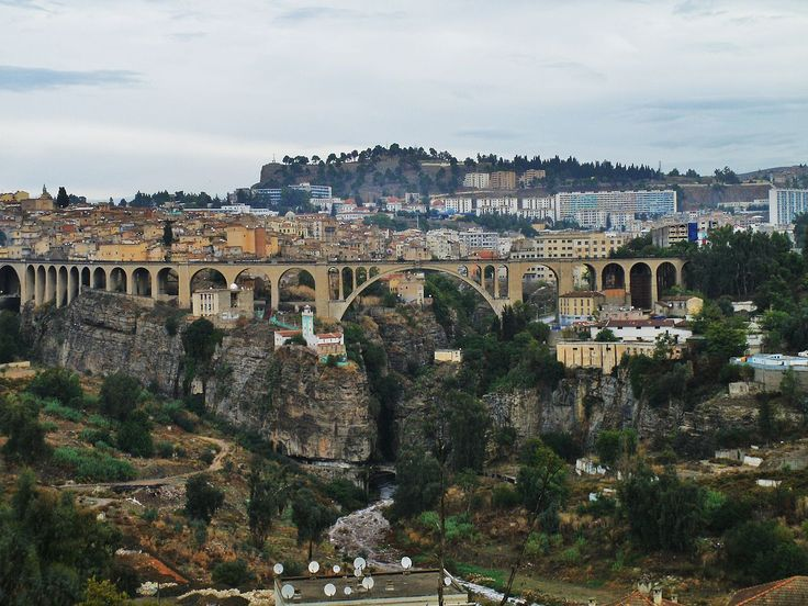 Pont de Sidi Rached - Constantine (Algérie)
