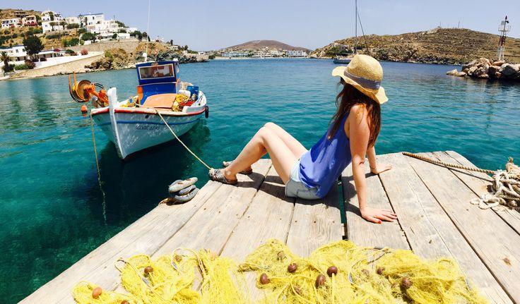 Achladi beach, Syros Island, Greece