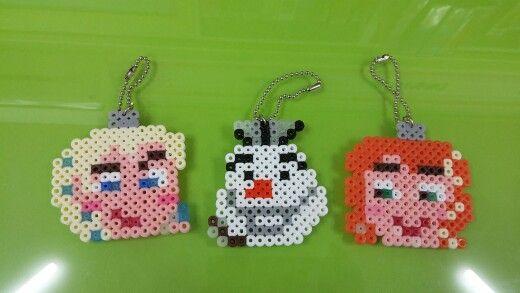 Frozen Ornament Perler Beads by Ajin