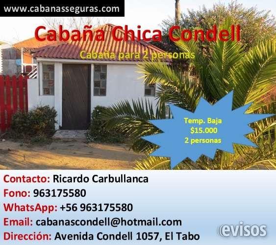 Arriendo de cabañas en El Tabo  Cabañas Seguras  Portal de Cabañas, Residenciales y H ..  http://el-tabo.evisos.cl/arriendo-de-cabanas-en-el-tabo-id-620982