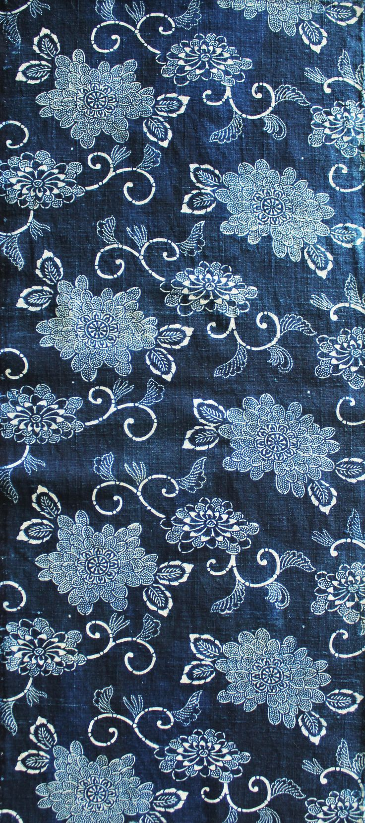 加賀のお国染 花岡コレクションより Japanese traditional indigo dyeing  by Hanaoka collection