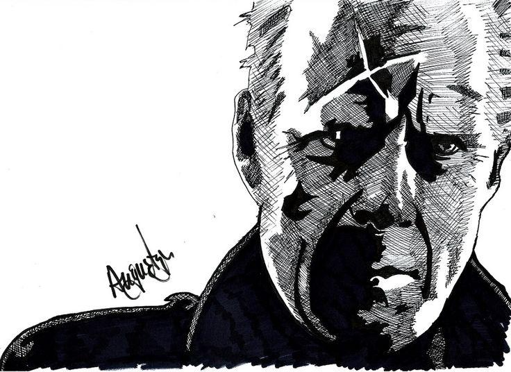 John Hartigan -  Bruce in Sin City