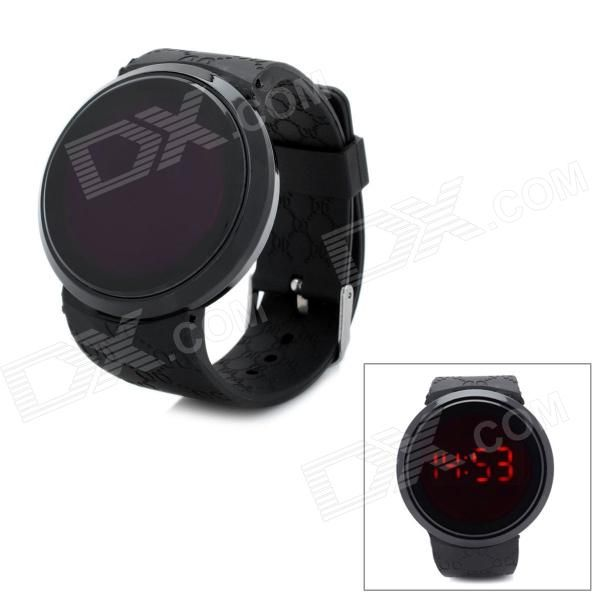 Brand: N/A; Model: N/A; Quantity: 1 Piece; Color: Black; Band Material: Rubber; Casing Material: Alloy; Suitable for: Adults; Gender: Unisex; Style: Wrist Watch; Type: Fashion Watches; Display: Digital; Movement: Electronic movement; Display Format: 12/24 hour time format; Water Resistant: Daily Water Resistant (not for Swimming); Dial Diameter: 4.8 cm; Dial Thickness: 1 cm; Band Length: 25 cm; Band Width: 2 cm; Battery: 1 x CR2032 battery; Packing List: 1 x Wrist watch; http://j.mp/1lkoK48