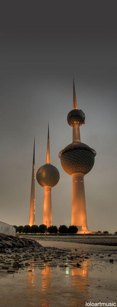 Kuwait Towers, Kuwait