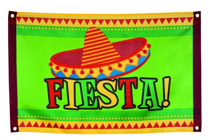Bandiera dal gusto messicano su VegaooParty, negozio di articoli per feste. Scopri il maggior catalogo di addobbi e decorazioni per feste del web,  sempre al miglior prezzo!