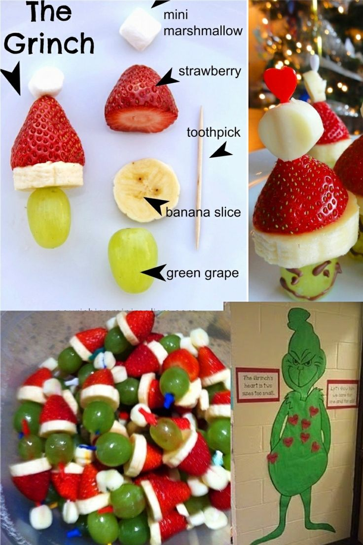 17 best ideas about grinch kabobs on pinterest holiday for Some good christmas treats to make