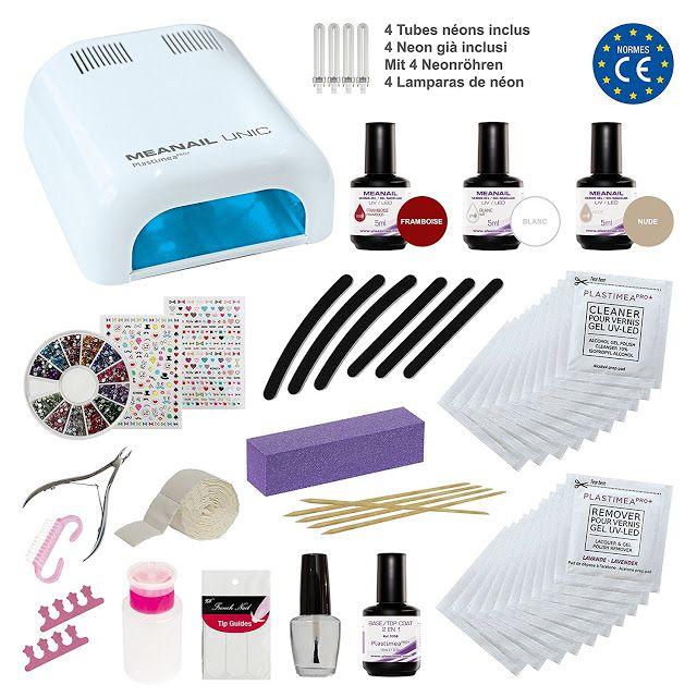 Global Ideas AVR: Kit de manicura semi - permanente y de Nail Art ME...