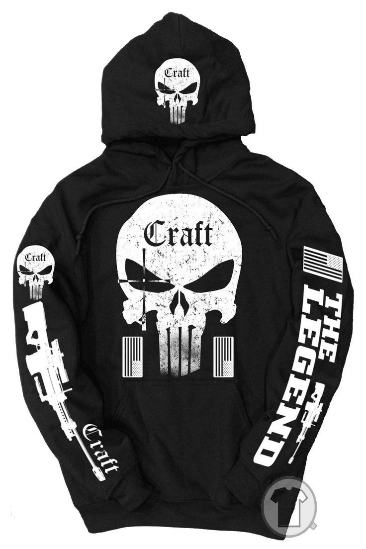 49 99 | American Sniper Craft Marvel Punisher Black Hoodie Buy ANY 2