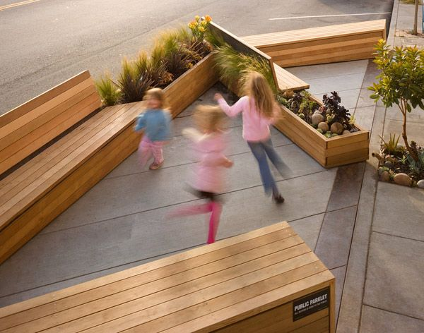 Tiny urban parks, or parklets, have been popping up along some of San Francisco's busiest streets.