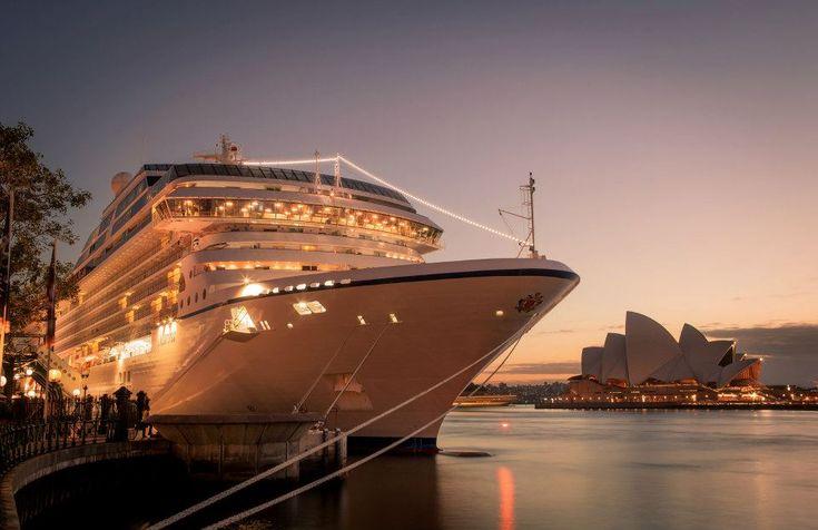 Oceania Marina, Oceania Cruises, Sydney, Australia
