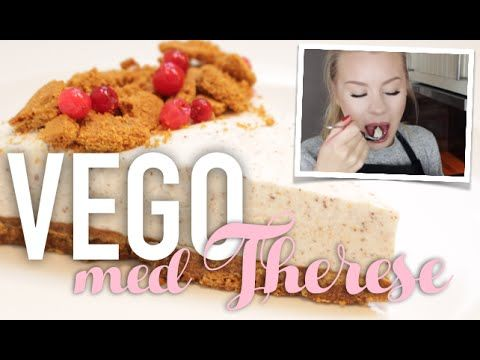 Vego med Therese: Pepparkaks-cheese cake