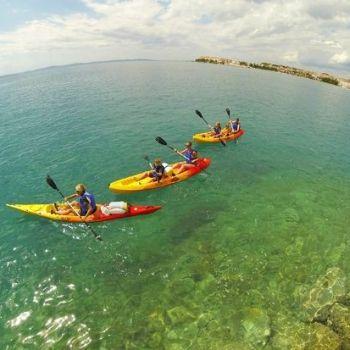 Activiteit Split Kroatië, ga een dagje zee en rivier kajakken in Spilt. Check deze activiteit op AdventureTickets.nl