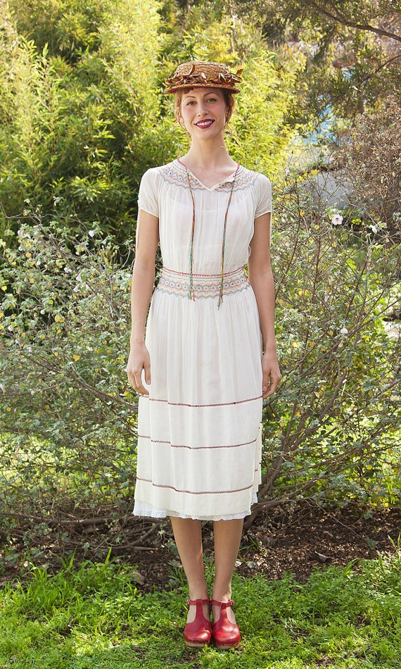 My 1930's Vintage Hungarian Dress available at TavinShop & at the Boutique