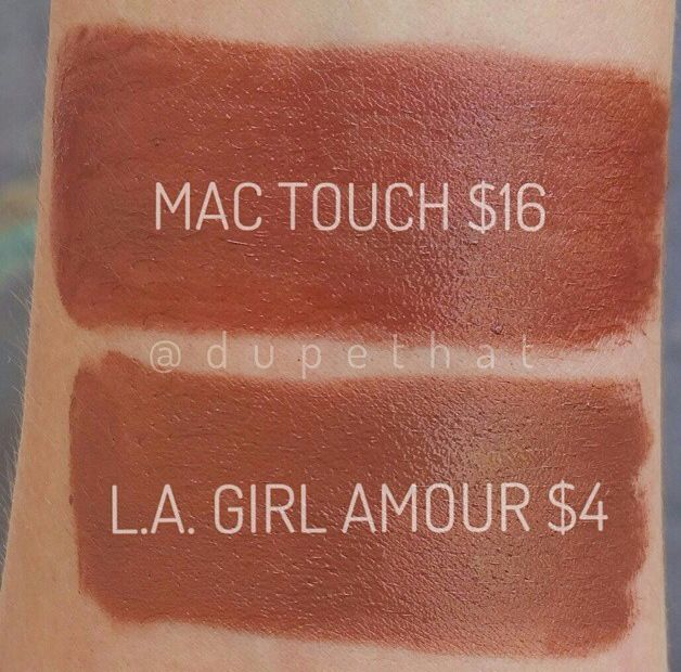 mac touch dupe la girl amour la girl pinterest
