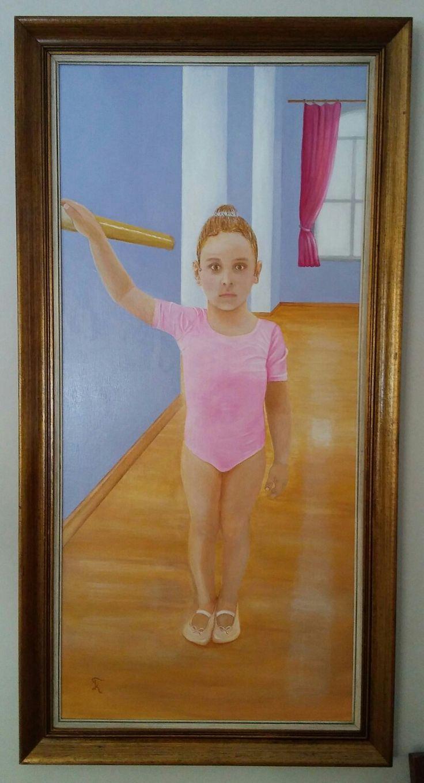 """Kostas Giannopoulos (1975-), """"Aphrodite"""", acrylic on canvas, 60×105."""