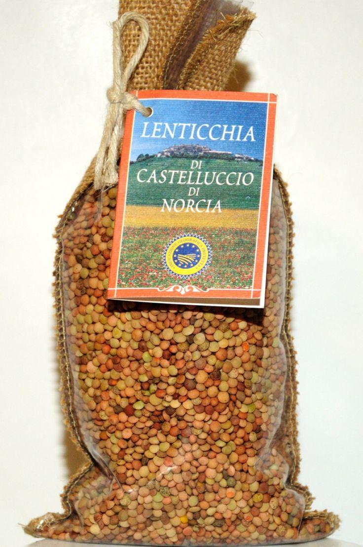 Perugia lenticchie di Castelluccio