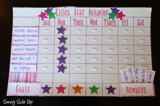 Sunny Side Up: Star Behavior Charts re-born!
