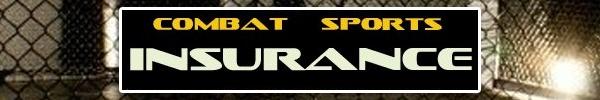 My business, Combat Sports Insurance www.combatsportsinsurance.com