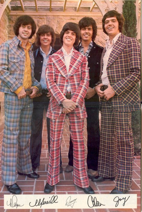 The Osmonds - plaid supersized 70's