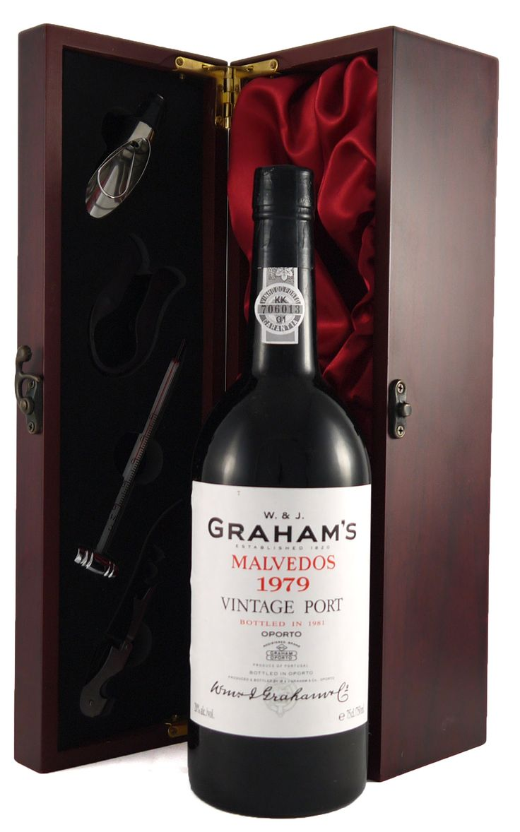 1979 Graham's Malvedos #Vintage #Port  The #1979 #vintage produced this beautiful deep, intense port with #sweet plumy #chocolate flavours.