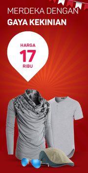 Harga MERDEKA Fashion & Accesories 17 Ribu