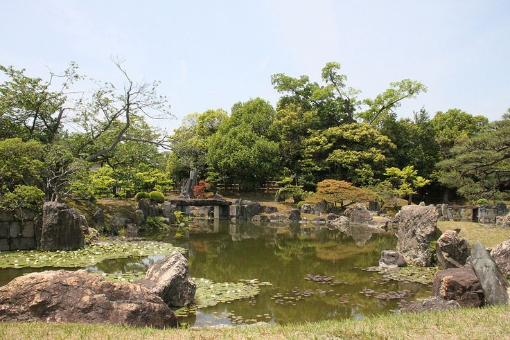 Zen Garden at Nijo Castle, Kyoto
