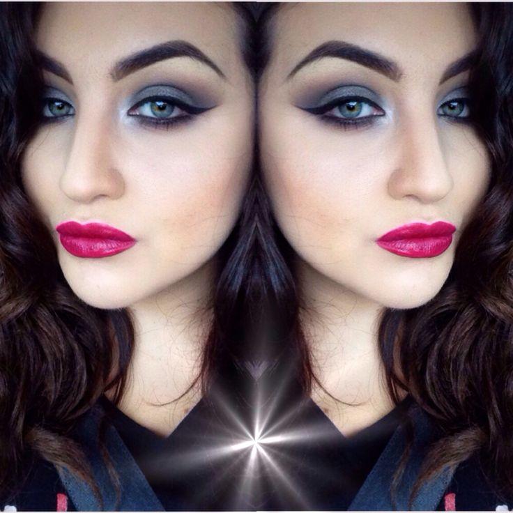 Vintage look makeup
