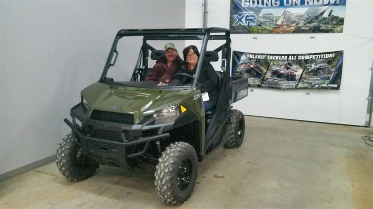 JAMES's new 2017 Polaris Ranger! Congratulations and best wishes from Jay Hatfield Motorsports and BLAKE MATHIS.