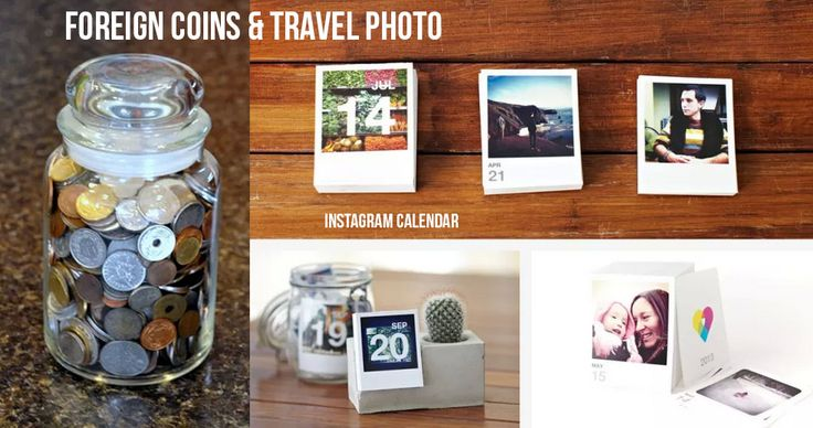 What to do with collected foreign coins and old instagram travel photos