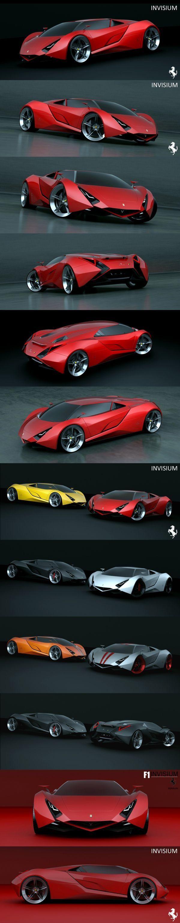 Ferrari. I'd almost expect this in Lamborghini's line, mores than Ferrari's, but…