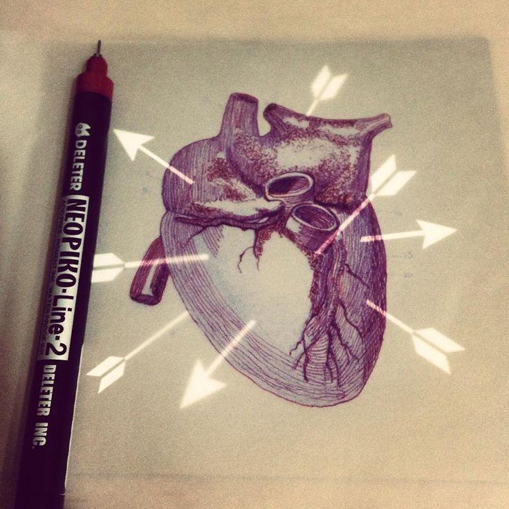Heart Sketch.