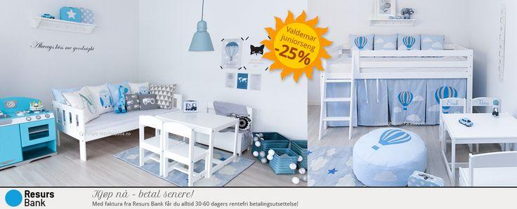 Barnerom - Barneutstyr - Nettbutikken KidsParadise.no