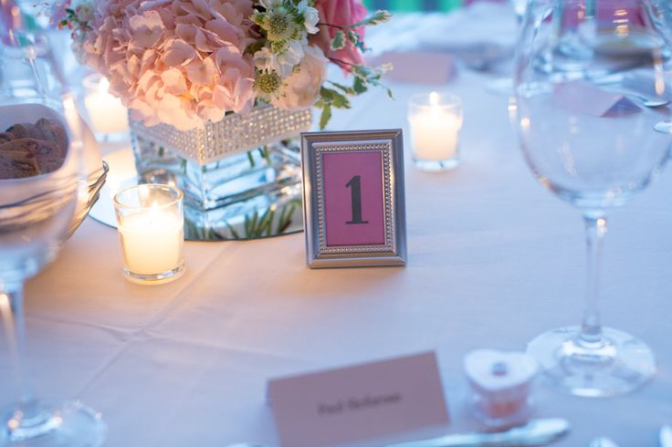 Vineland Estates wedding reception table